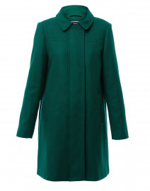 Ste Oceane Wool Green Coat