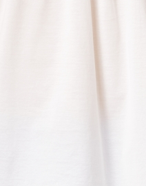 Weekend Max Mara - Giotto White Embroidered Cotton Top