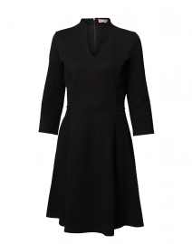Kennedy Black Ponte Dress