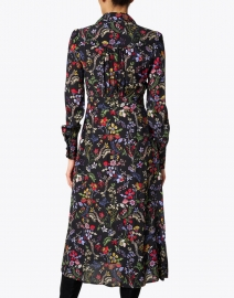 Jane - Minerva Black Floral Shirt Dress