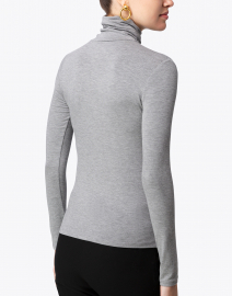 Majestic Filatures - Medium Grey Stretch Viscose Top