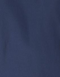 Caliban - Navy Stretch Silk Blouse
