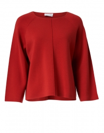 Spice Red Superfine Merino Top
