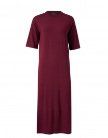 Onda Plum Knit Dress