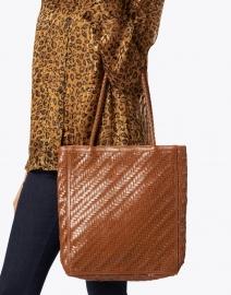 Bembien - Le Tote Sienna Brown Leather Bag