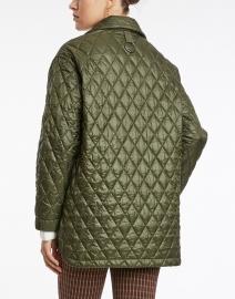 Elliott Lauren - Olive Green Quilted Barn Jacket