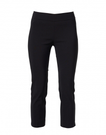 Brigitte Black Cropped Pull-On Pant