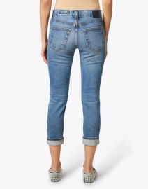 AG Jeans - Relaxed Fit Slim Blue Cropped Jean