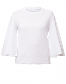 Buttercup White Bamboo Cotton Jersey Top