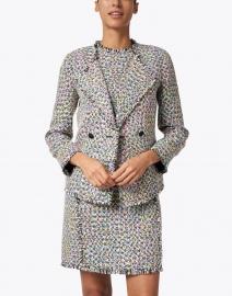 Emporio Armani - Multi Colored Tweed Jacket