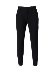 Black Soft Crepe Pant