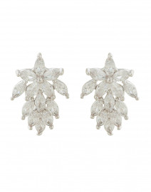 Monarch Crystal Mini Cluster Stud Earrings