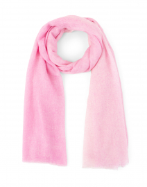 Rosewater Spray-Dyed Cashmere Wrap