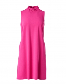Avery Magenta Ruffle Dress