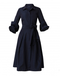 Hughes Navy Shirt Dress