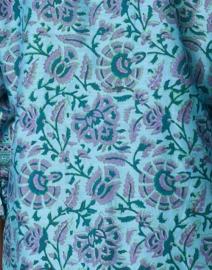 Bella Tu - Green Floral Tunic Dress