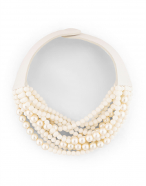 Marcella Matte White and Pearl Necklace