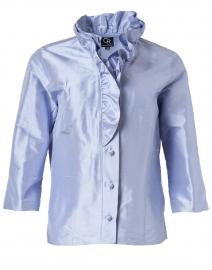 Celine Cortez Purple Silk Shirt