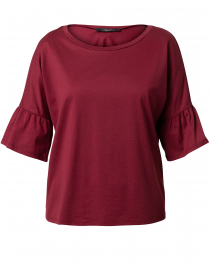 Orlanda Bordeaux Cotton Top