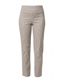 Milo Camel and Plaid Stretch Pant
