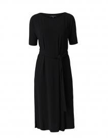 Rollins Black Jersey Dress