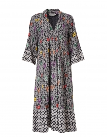 Panina Multi and Black Loire Print Dress