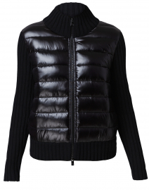 Sollero Black Quilted Jacket