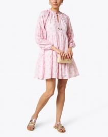 Oliphant - Lilac Capella Print Cotton Voile Dress
