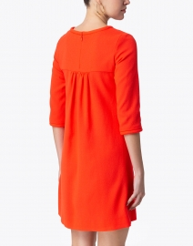 Goat - Lola Clementine Orange Wool Crepe Dress