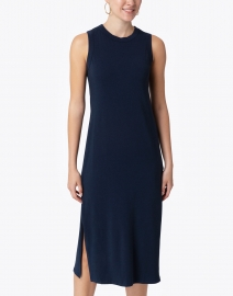 Southcott - Allison Navy Bamboo Cotton Jersey Dress
