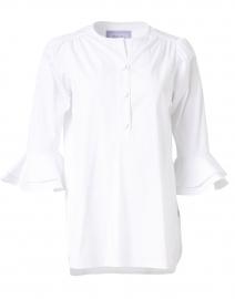 Wren White Stretch Cotton Shirt