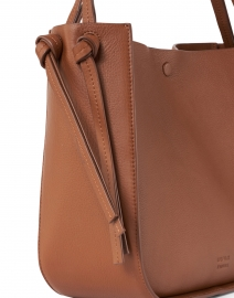 Loeffler Randall - Marine Cognac Pebbled Leather Tote Bag