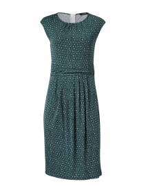 Uvetta Green Rosebud Print Jersey Dress