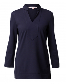 Chris Navy Ponte Tunic