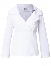 Finley - Valencia White Cotton Top