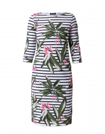 Propriano Escale Floral Printed and Striped Dress