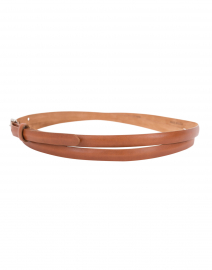 W. Kleinberg - Cognac Double Wrap Belt