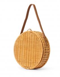 SERPUI - Destiny Natural Wicker Circle Bag