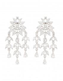 Monarch Crystal Fern Drop Earrings