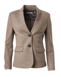 Hazel Melange Stretch Wool Jersey Jacket