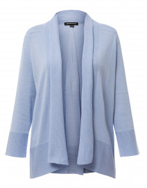 Sky Blue Cotton Viscose Cardigan