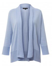 Sky Blue Cotton Viscose Cardigan