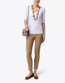 Emporio Armani - White Jersey Top
