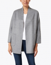 Kinross - Slate Grey Wool Cashmere Jacket