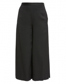 Black Wide Leg Culotte pant