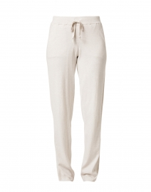 Desert Beige Cotton Lounge Pant