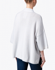 Aspesi - Grey Dolman Sleeved Cotton Cardigan