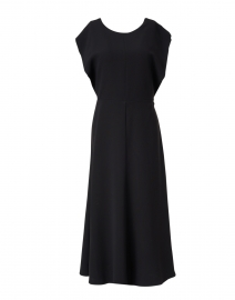 Delannoy Black Cape Dress
