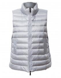 Light Blue Puffer Vest