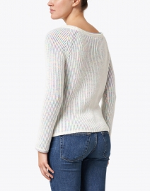 Marc Cain - Multicolor Ribbed Cotton Sweater